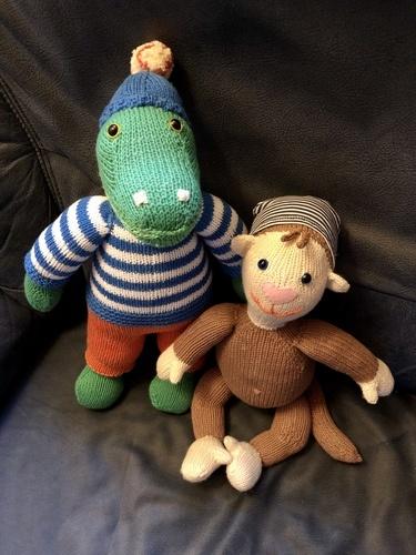 Makerist - Lille, das kleine Affenkind - Strickprojekte - 2