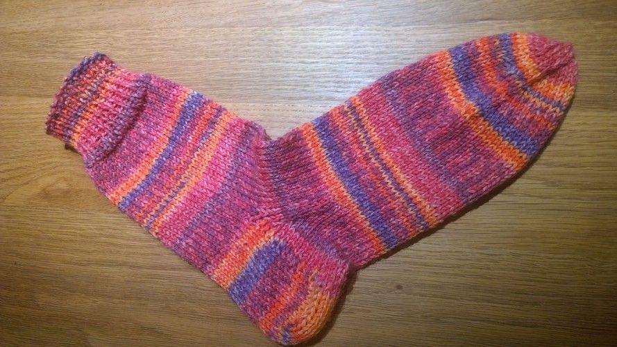 Makerist - Meine ersten gestrickten Socken - Strickprojekte - 1