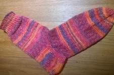 Makerist - Meine ersten gestrickten Socken - 1