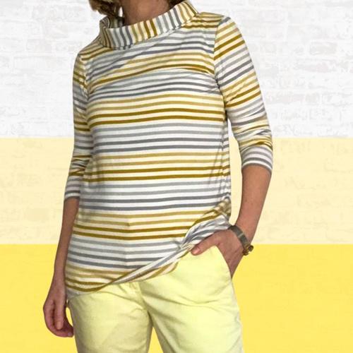 Makerist - Shirt Lisette aus Jersey für Damen - Nähprojekte - 1