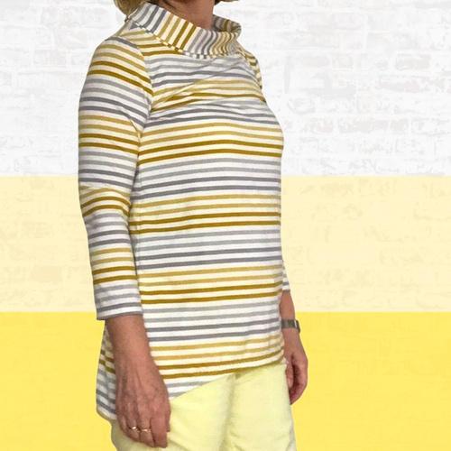 Makerist - Shirt Lisette aus Jersey für Damen - Nähprojekte - 2