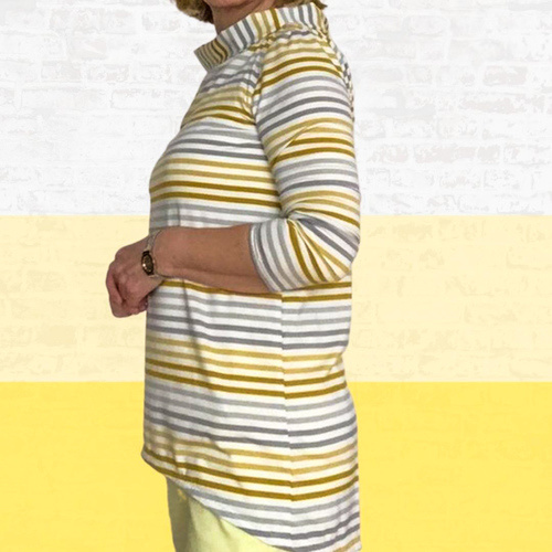 Makerist - Shirt Lisette aus Jersey für Damen - Nähprojekte - 3