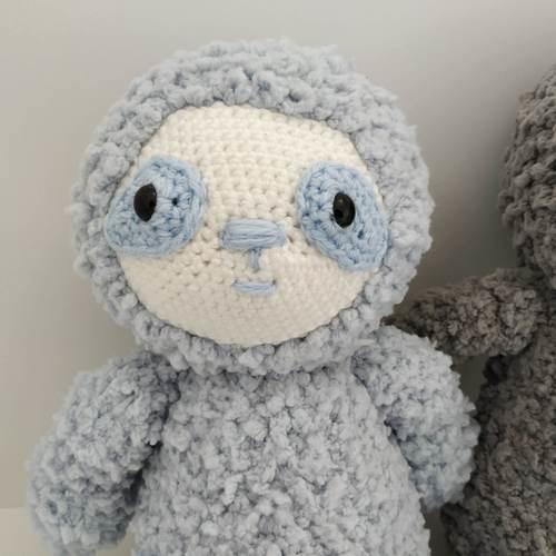 Makerist - Amigurumi - Paolo le paresseux - Créations de crochet - 2