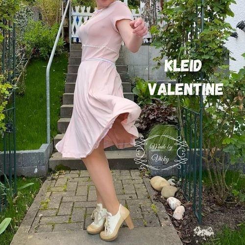 Makerist - Kleid Valentine - aus Webware oder Jersey - für Damen - Nähprojekte - 1