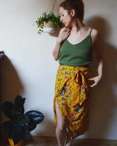 Makerist - Jupe Calypso - Vestiaire Eponyme - Créations de couture - 1