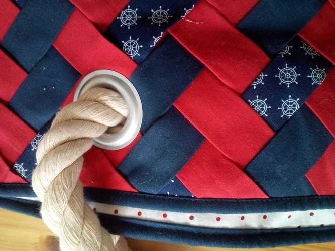 Makerist - Strandtasche - Patchwork-Projekte - 1