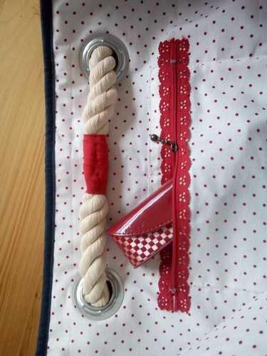 Makerist - Strandtasche - Patchwork-Projekte - 3