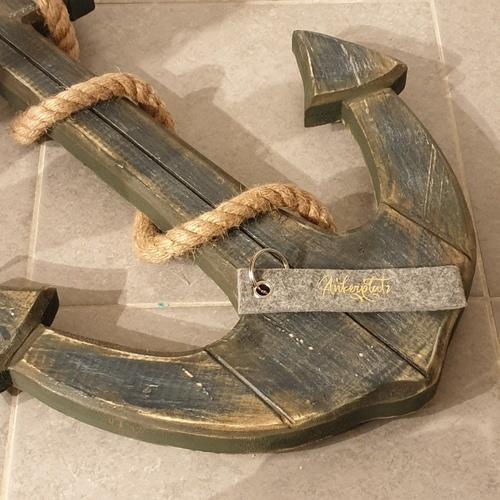 Makerist - Ankerpkatz - Mein Mann sein neuer Schlüsselanhänger aus Filz - Textilgestaltung - 2