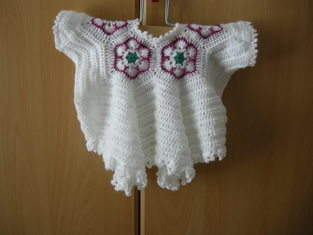 Makerist - African Flower Babyjäckchen - 1