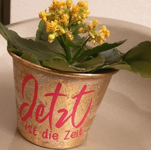 Makerist - Jetzt ist die Zeit für meinen Blumenübertopf - DIY-Projekte - 1