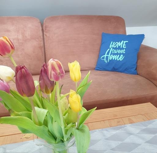 Makerist - Home sweet Home auf dem Kissenbezug - Textilgestaltung - 1