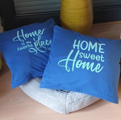 Makerist - Home sweet Home auf dem Kissenbezug - Textilgestaltung - 3