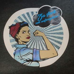 Makerist - Power Frau für mein Hoodie - 1