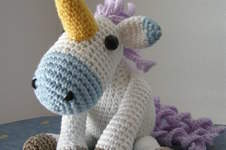Makerist - Winter-Einhorn - 1