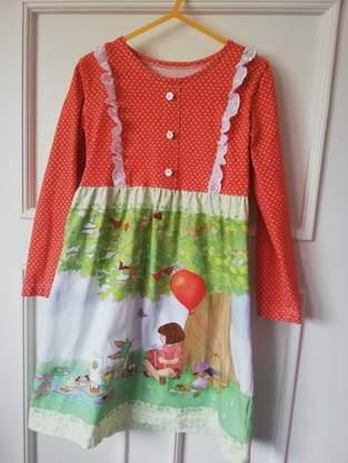 Makerist - Geburtstagskleid für Fridas 4. - 1