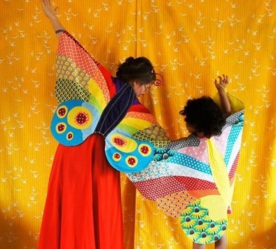 Makerist - Kostüm Schmetterlingflügel - Nähprojekte - 1