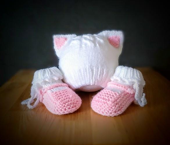 """Makerist - Set """"Kitty"""" - Strickprojekte - 1"""