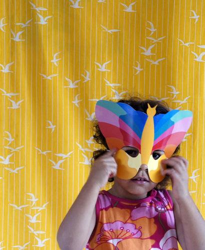 Makerist - Karneval Maske Schmetterling - DIY-Projekte - 1