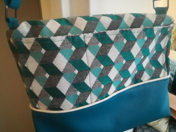 Makerist - Georgette  turquoise - Créations de couture - 2