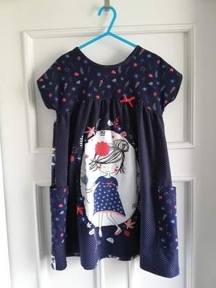 Crossover Dress für Frida