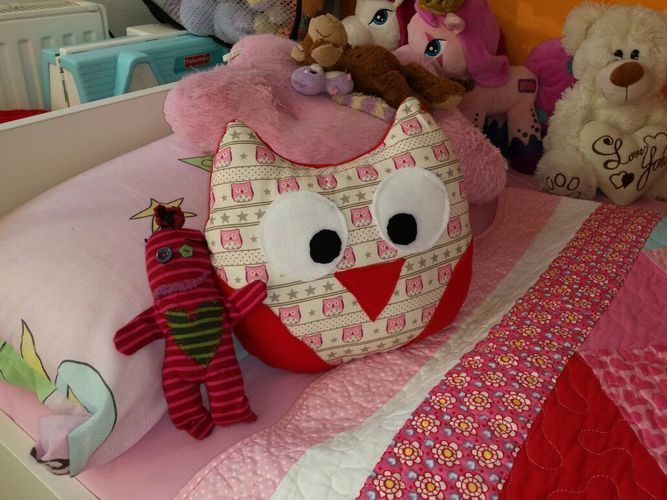 Makerist - Mein erstes Kissen für meine Tochter - Nähprojekte - 1