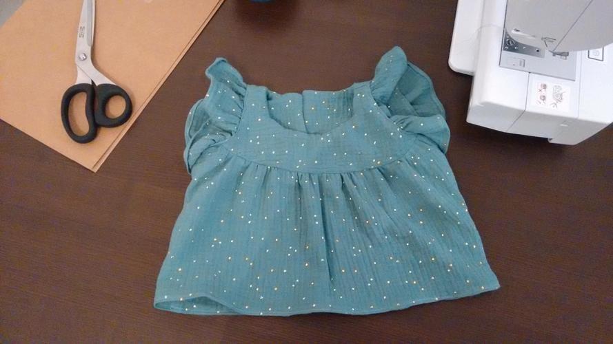 Makerist - Blouse Hina - double gaze - 9 mois - Créations de couture - 1