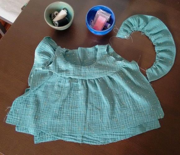 Makerist - Blouse Hina - double gaze - 9 mois - Créations de couture - 2