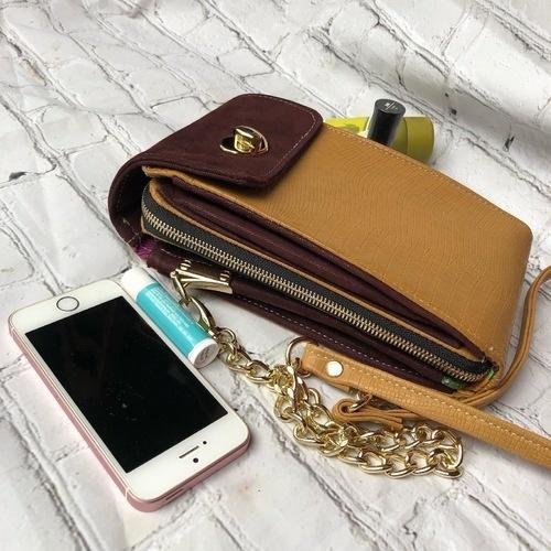 Makerist - Litle Foksa, Crossbody wallet bag. - DIY Showcase - 1