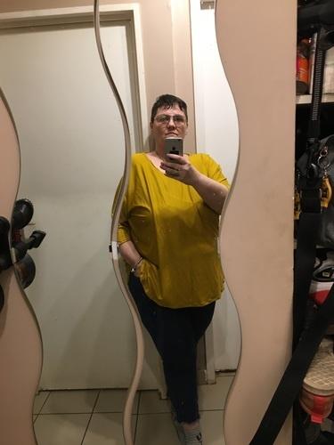 Makerist - Blouse pour moi en jersey moutarde  - Créations de couture - 1