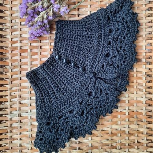 Makerist - Col Victorien au crochet - Créations de crochet - 3