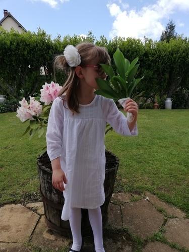 Makerist - Ma robe pénélope blanche - Créations de couture - 1