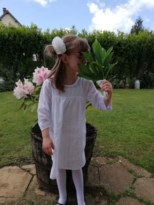 Ma robe pénélope blanche