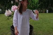 Makerist - Ma robe pénélope blanche - 1