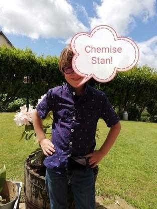 Chemise Stan Version Marin