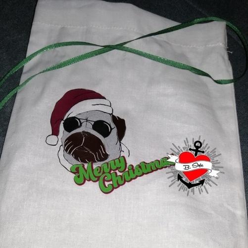 Makerist - Weihnachtshund - Textilgestaltung - 2