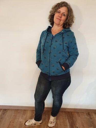 Makerist - Jacke aus Sweet für mich - Nähprojekte - 1
