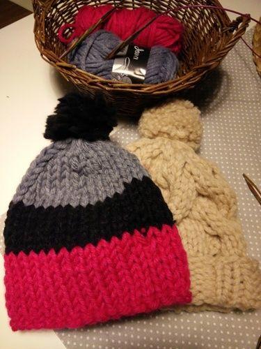 Makerist - Mütze mit zopfmuster  - Strickprojekte - 1