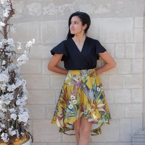 Makerist - Jupe la Parisienne en satin de coton - Créations de couture - 1
