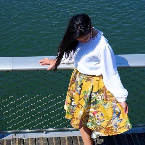 Makerist - Jupe la Parisienne en satin de coton - Créations de couture - 2
