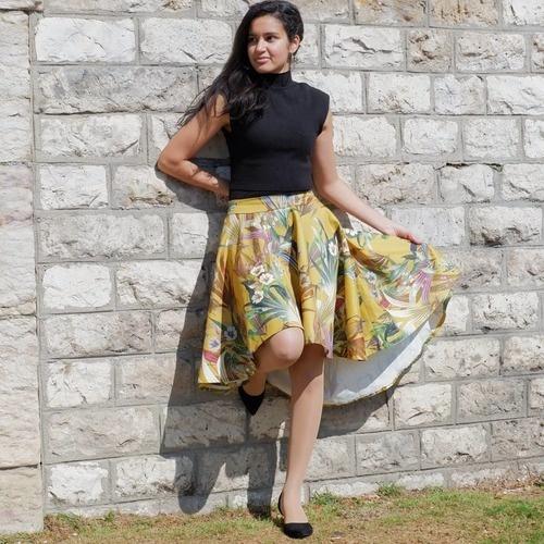 Makerist - Jupe la Parisienne en satin de coton - Créations de couture - 3