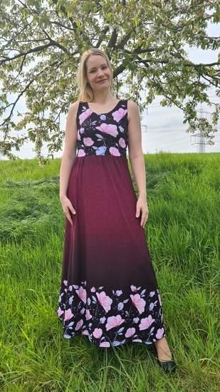 Kleid Scilla als Maxikleid