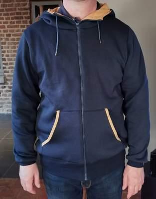 Makerist - Veste zippée à capuche homme  - 1