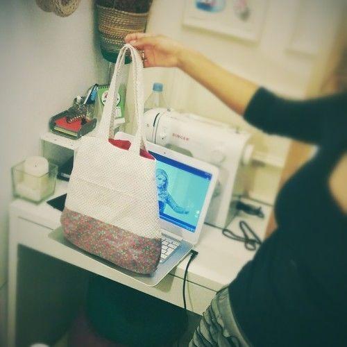 Makerist - Tasche Beutel shopper - Nähprojekte - 1