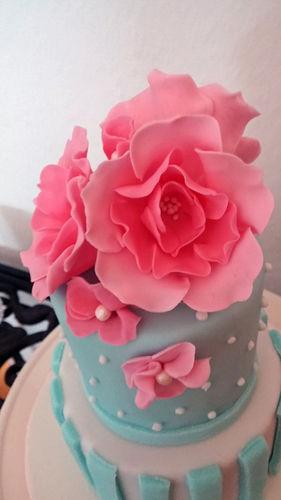Makerist - Mini Hochzeitstorte - Torten, Cake Pops und Cupcakes - 2