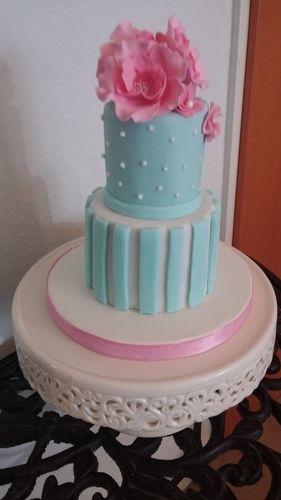 Makerist - Mini Hochzeitstorte - Torten, Cake Pops und Cupcakes - 3