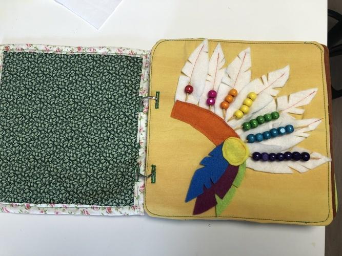 Makerist - Stoffbilderbücher  - Textilgestaltung - 2