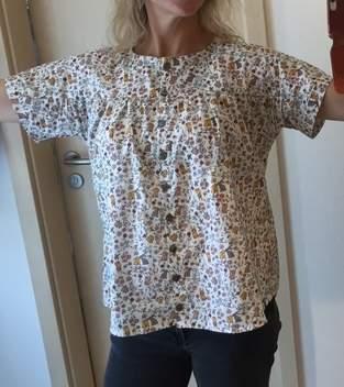 Makerist - Bluse: Frau Suzy mit Häschen - 1