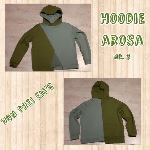 Makerist - Hoodie Arosa  - Nähprojekte - 1