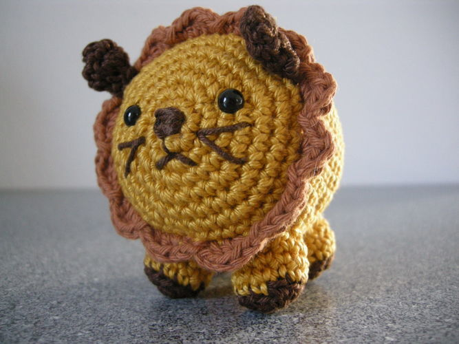 Makerist - Löwenpapa - Häkelprojekte - 1