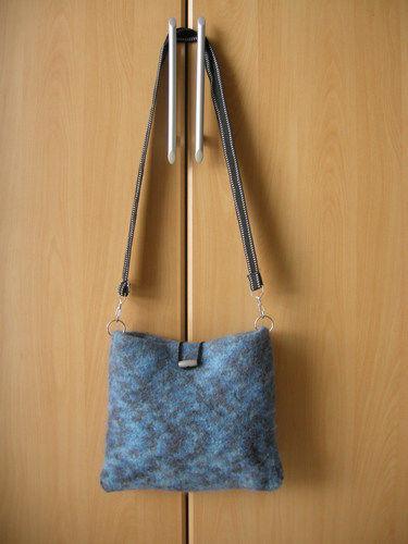 Makerist - gefilzte Tasche - Häkelprojekte - 1